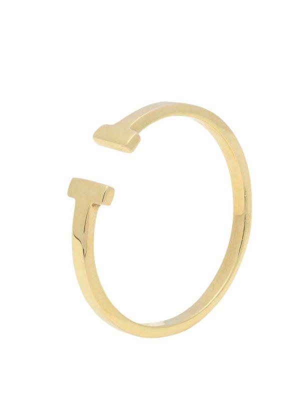 anillo balance oro Mercurio Joyeria